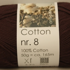 Hjertegarn Cotton nr. 8 50g 2500